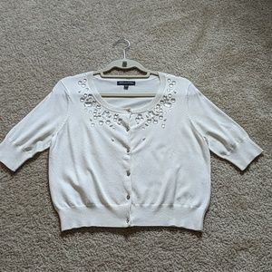 NWOT Express short sleeves cardigan